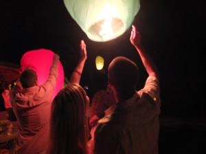 Jenna and Adam - Wish Lanterns - Resized