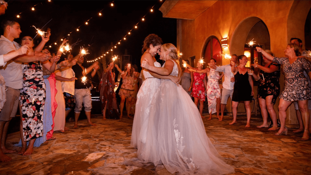 lesbian first dance wedding