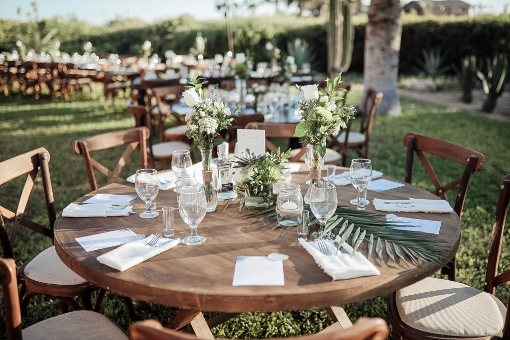 table ideas Mexico wedding